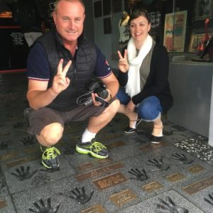 Walk of fame on Los Angeles Tour
