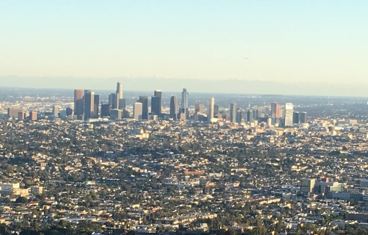 Panorama Skyline of Los Angeles