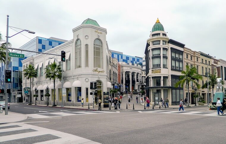 Street View of Rodeo Drive